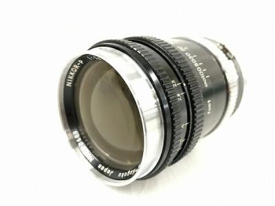 Nikon ニコン NIKKOR-P 1:2.5 f=10.5cm カメラレンズ フード つき