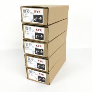 KVK K6-P2 アングル形 止水栓 5箱 2個入り 10個 セット