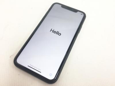 Apple iPhone XR NT002J/A docomo 64GB 6.1型 ブラック スマートフォン アップル