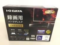 IO-DATA アイ・オー・データ AVHD-AUTB3 外付けHDD 3TB テレビ録画用 周辺機器 家電