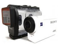 SONY ソニー FDR-X3000 デジタル 4K ビデオ カメラ レコーダー アクションカム ライブビューリモコンキットの買取