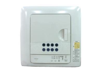 TOSHIBA 東芝 ED-458 W 衣類乾燥機 ピュアホワイト 乾燥容量 4.5kg