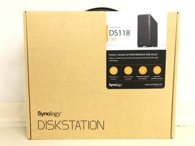 Synology DiskStation DS118 1ベイ NAS キット アスク サポート対応 クアッドコアCPU搭載