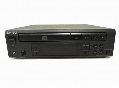 SONY CDP-S35 CDプレーヤー デッキ ブラック