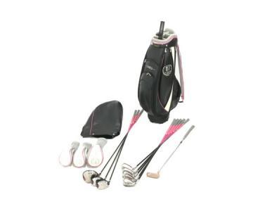 LINKS リンクス ゴルフクラブ 9本 セット キャディーバッグ付 アイアン ドライバー パター