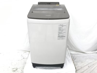 Panasonic パナソニック NA-FA100H5-N 全自動洗濯機 10kg 2017年製 シャンパン 家電 大型