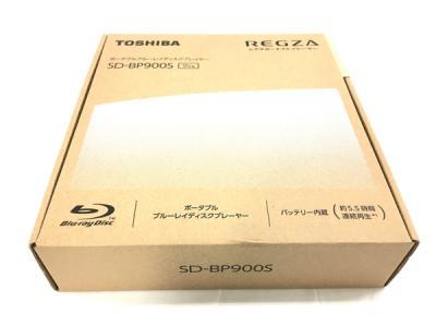 東芝 TOSHIBA REGZA SD-BP900S ポータブル BD ブルーレイ プレーヤー