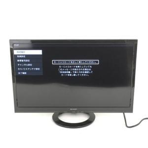 SHARP シャープ 24型 液晶 テレビ LC-24K30 TV 家電