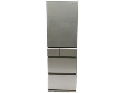 Panasonic パナソニック NR-E431GV-N トップユニット冷蔵庫 411L 5ドア 右開き