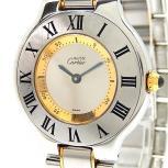 Cartier カルティエ マスト21 ヴァンティアン 1330 腕時計 レディース クォーツ