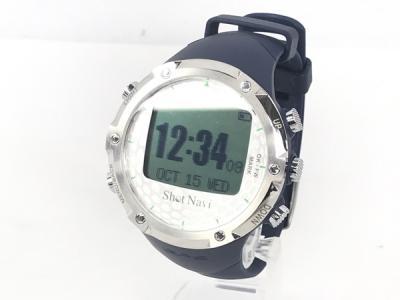 ShotNavi ショットナビ W1-FW ゴルフGPSナビ 腕時計型 ブラック
