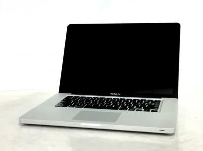 Apple MacBook Pro CTOモデル ノートPC 15.4型 Mid 2010 i5 M 540 2.53GHz 8GB HDD500GB High Sierra 10.13 NVIDIA GeForce GT 256MB