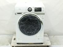 アイリスオーヤマ HD71-W/S ドラム式洗濯機 7.5kg ホワイト/シルバー