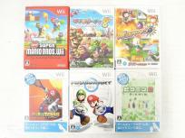 任天堂 ニンテンドー Wii ソフト スーパーマリオ ブラザーズ その他 おまとめ 6本 セット ゲームソフト
