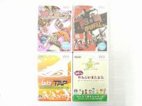 任天堂 ニンテンドー Wii ソフト 珍スポーツ その他 おまとめ 4本 セット ゲームソフト
