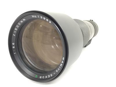 Mamiya SEKOR C F5.6 500mm レンズ SL-1Bフィルター付