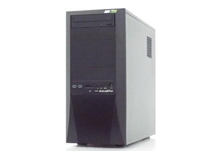 サードウェーブ GALLERIA XT デスクトップPC i7 8700 3.20GHz 8GB SSD500GB HDD1.0TB GTX 1060 6GB Win 10 Home 64bit