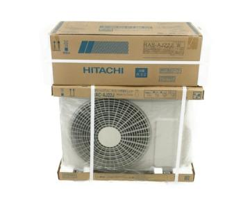 日立 HITACHI RAC-AJ22J 室外機 RAS-AJ22J(W) 室内機 エアコン おもに6畳用