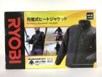 RYOBI リョービ 充電式 ヒートジャケット 現場 作業着 冬 防寒 BHJ BM684500A