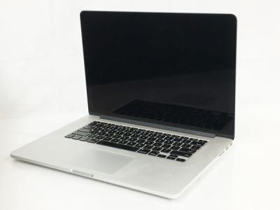 Apple MacBook Pro 11,4 Retina 15-inch Mid 2015 ノート PC i7-4770HQ 2.20GHz 16GB SSD 256GB アップル
