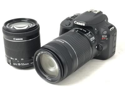 Canon キャノン Kiss x7 ダブルズームキット デジタル 一眼 カメラ