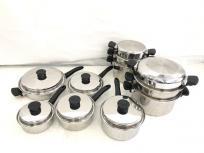 Amway アムウェイ クイーンクックウェア 24ピース 鍋 キッチン用品 料理 調理 クッキングの買取