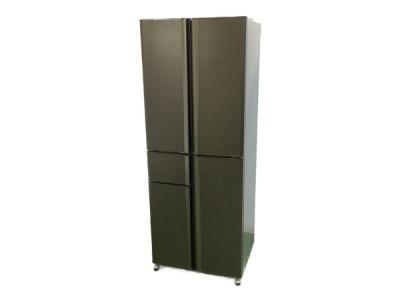MITSUBISHI 三菱 MR-A41T-UW 冷蔵庫 405L 5ドア フレンチドア アーバンウッド