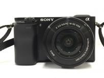 SONY α6000 ILCE-6000L 16-50mm パワーズームレンズキット ミラーレス 一眼 カメラの買取