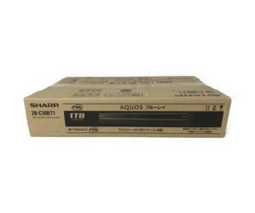 SHARP AQUOS アクオス 2B-C10BT1 4K ブルーレイ レコーダー 1TB シャープ