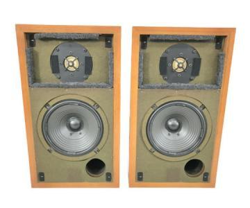 SONY SS-A3 スピーカー ペア ブラウン系 2ウェイ バスレフ方式 ブックシェルフ型 ソニー 音響機材