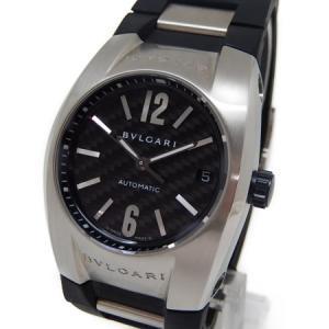 BVLGARI ブルガリ エルゴン EG35BSVD 自動巻き ラバー メンズ 腕時計