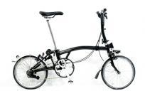 BROMPTON S2L 折りたたみ 自転車 16インチ ブラックの買取