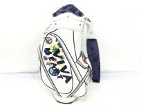 VIVA HEART キャディバッグ 9.5型 ビバハート ゴルフ エナメル製