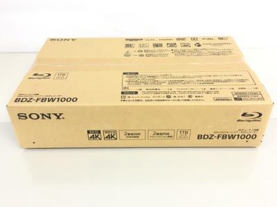 ソニー BDZ-FBW1000 4Kチューナー内蔵Ultra HD ブルーレイ/DVDレコーダー