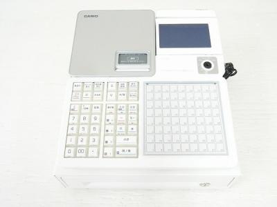 CASIO SR-C550-4SWE レジスター Bluetooth 飲食店向け カシオ 家電