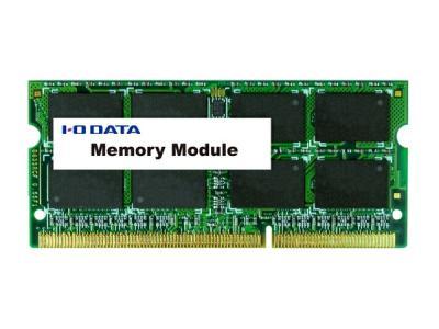 IO DATA アイオーデータ 対応ノートPC用メモリー SDY1600L-8G 8GB 低電圧タイプ 2点セット