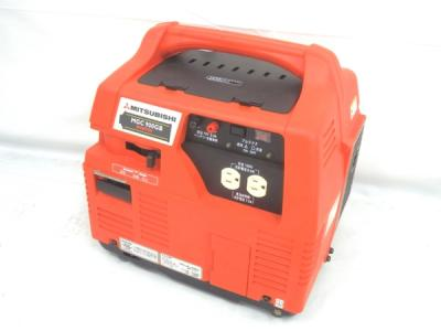 三菱重工 MGC900GB ガス燃料 発電機 カセットボンベ