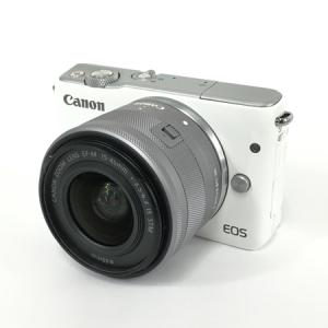 Canon EOS M10 EF-M 15-45mm 4:3.5-6.3 IS STM ミラーレス一眼 レンズセット 訳有