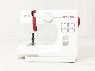 Janome ジャノメ JA525 sew D Lite コンパクト 電動ミシン