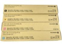 富士ゼロックス トナー カートリッジ CT201102 CT201103 CT201104 CT201105 4本セット
