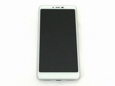 ZTE Libero S10 901ZT Y!mobile 32GB 5.7型 ホワイト スマートフォン