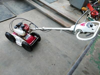 鳥取県 鳥取市 丸山製作所 MGC-S300 自走式草刈り機 ガソリン エンジン始動可 前後進可 農機具 農業機械
