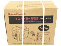 ナカトミ DREAM POWER EIGG-600D インバーター 発電機 600VA