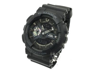CASIO カシオ G-shock GA-110 メンズ ブラック 時計