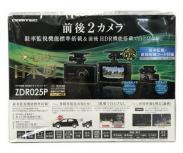 COMTEC ZDR025P GPS内蔵ドライブレコーダー 前後2カメラ ドライブレコーダー コムテック 車載機器