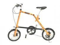 NANOO FD-1408 ディスクブレーキ搭載 折りたたみ自転車 14インチ 軽量アルミ サイクリングの買取