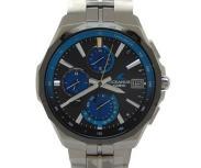 CASIO カシオ OCEANUS オシアナス マンタ OCW-S5000E-1AJF 電波ソーラー 腕時計 メンズ