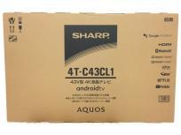 SHARP 4T-C43CL1 4K液晶テレビ シャープ 43V型