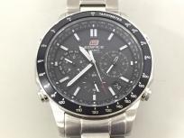 CASIO カシオ エディフィス EQW-550D 電波ソーラー メンズ 腕時計