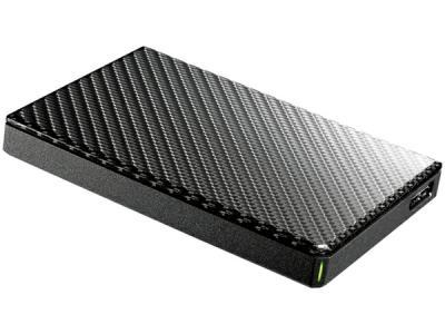 I-O DATE アイ・オー・データ HDPT-UTS2BR 2TB ポータブル ハードディスク HDD 高速 カクうす バスパワー